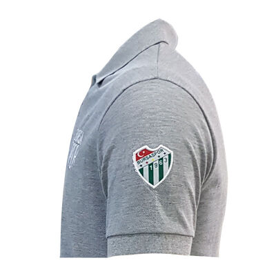 T-Shirt Polo Yaka Bursaspor Gri