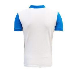 BURSASTORE - T-Shirt Polo Yaka Bursaspor Mavi Beyaz (1)