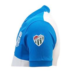 T-Shirt Polo Yaka Bursaspor Mavi Beyaz - Thumbnail