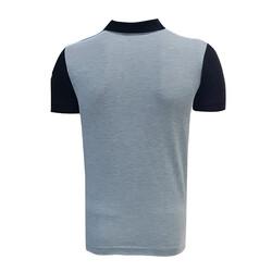BURSASTORE - T-Shirt Polo Yaka Bursaspor Siyah Gri (1)
