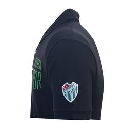 T-Shirt Polo Yaka Bursaspor Siyah - Thumbnail
