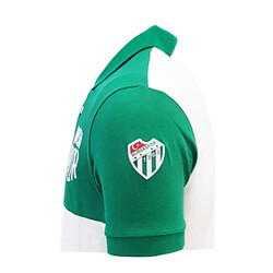 T-Shirt Polo Yaka Bursaspor Yeşil Beyaz - Thumbnail