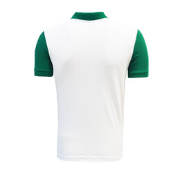 BURSASTORE - T-Shirt Polo Yaka Bursaspor Yeşil Beyaz (1)
