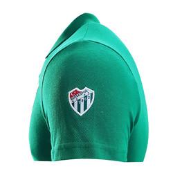 T-Shirt Polo Yaka Bursaspor Yeşil - Thumbnail